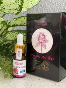sử dụng tinh dầu hoa hồng orenji